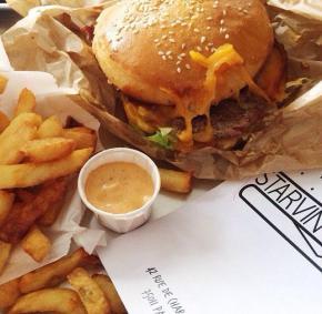 Le burger desaffamés