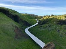 Début du chemin de randonnée
